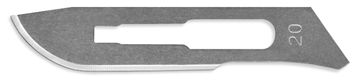 Picture of #20 Stainless Steel Scalpel Blades - Box of 100