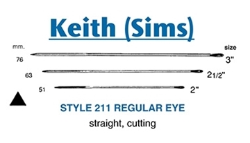 Picture of Style 211 - Keith Needle (Sims) Straight Cutting