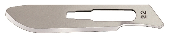 Picture of #22XT STAINLESS STEEL GROSSING BLADE